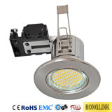 5W Blanc Chaud 30/ 60/ 90mins Downlight Led coupe-feu