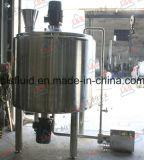 Acero inoxidable de mezcla del tanque, tanque homogeneizador, emulsionante Tanque