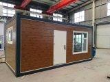 편평한 팩 모듈방식의 조립 주택 표준 콘테이너 집