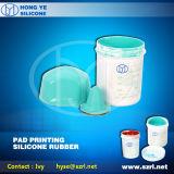 Borracha de silicone para impressão de almofadas