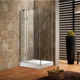 Chrome 1200x900mm coin simple douches cabine de douche