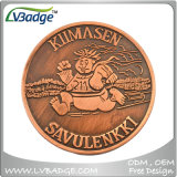 High Quality Custom Making Metal Copper Coin