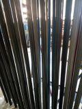 Tubo de la fibra del carbón con el paño de la fibra 3kcarbon