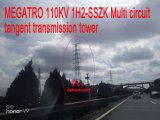 Megatro 110kv 1h2-Sszk multi Kreisläuf-Tangente-Übertragungs-Aufsatz
