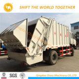De zware 4X2 Vrachtwagen van de Pers van de Compressie van het Huisvuil van Dongfeng 8tons