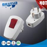 Stecker mit Schalter-elektrischem Stecker