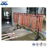 Het elektrolytische Aan de grond zettende Zuivere Rode Koper van de Elektrode voor het Systeem van de Bescherming van de Bliksem