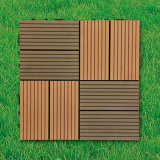 Outdoor를 위한 WPC Wood Plastic Composite Decking Floor Tile