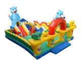 Château plein d'entrain gonflable/château sautant/château stationnement de l'eau pour l'amusement