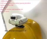 Bouchon de l'exploitation minière des feux à LED sans fil, PC IP68 en plastique dur mineurs Hat lampe pour mine souterraine de la sécurité du travail