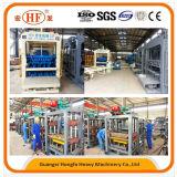 自動セメントの煉瓦作成機械、機械(Qt6-15D)を作る具体的な空のペーバーのブロック
