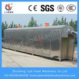 Forte asciugatrice tagliata della cipolla di capacità elevata dell'essiccatore dell'aria calda