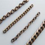 ハンドバッグのための卸し売り簡単な金属袋ストラップの骨董品の真鍮の鎖