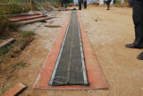 Rubber Waterstop met Steel Strip (die in China wordt gemaakt)