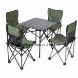 Складной стол и стул в подлокотнике для кемпинга, пляжные развлечения и отдых