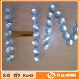 편평한 둥근 지붕 둥글거나 타원형 또는 오목한 장방형 알루미늄 민달팽이