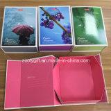 Personalizar el cuadro de Papel plegable de impresión de embalaje caja plegable plano