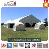 рамки водоустойчивый TFS пяди ширины 50m шатер кривого гигантской напольной ясной алюминиевой для выставки