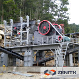 Steinzerkleinerungsmaschine-Pflanzenpreis der Qualitäts-50tph