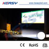 Indicador de diodo emissor de luz impermeável elevado cheio ao ar livre da cor P8 de SMD para o arrendamento/mostra