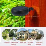 Solar Jardín de Luz LED Sensor de radar de microondas Ronda Solar 6 LED Lámpara de Pared exterior