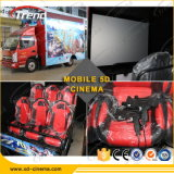 Elementi-Lowest Cost Exciting 7D Truck Mobile Cinema di Fair Hottest di cantone con Gun Playing