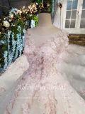 Pink Aoliweiyaの王女/アイボリーの結婚式の花嫁の服