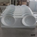 Дешевые цены камня смолы двойной раковиной в ванной комнате радиатор процессора в левом противосолнечном козырьке