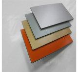 Panneaux composés en aluminium populaires construisant les panneaux de mur externes