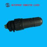 堅の水円のアセンブルされたM12 3 4 5 8つのPinの防水コネクター