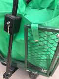 Carro de jardim Foldable do engranzamento de aço resistente