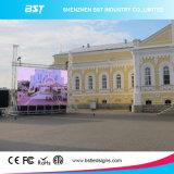 Afficheur LED extérieur de l'application P4.81 SMD2727 d'événements pour des affaires de location