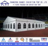 Grande barraca ao ar livre do partido da cerimónia do famoso do telhado do frontão