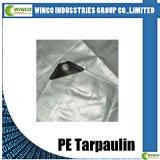 Bâche de protection tissée par PE pour le revêtement, bâche de protection stratifiée pour le revêtement d'industrie, tissu de textile de PE