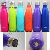 Boccetta isolata della bottiglia di acqua della bottiglia dell'acciaio inossidabile di vuoto 1000/750/500/350 di ml