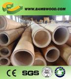 Poteaux en bambou naturel laminés à sec