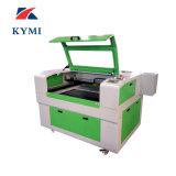 Tagliatrice del laser 100W di raffreddamento ad acqua della macchina per incidere di taglio del laser del CO2 Kmj6090