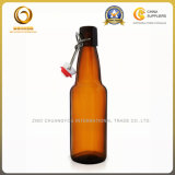 Пустая Recyclable янтарная стеклянная бутылка пива 500ml (1254)