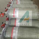 Alsafe 4500psi, 6,8L composto de fibra de carbono do Tanque de Ar