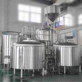 Calefacción a vapor 1000L equipo automático de la Cerveza Cervecería