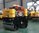 도는 스위치 800kg 진동하는 도로 롤러 쓰레기 압축 분쇄기 기계