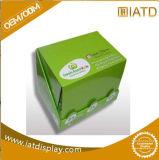 Vaso de papel cartón Contador Expositor con agujeros