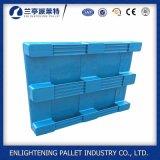 1200x1000mm pavimento sólido Higiene Fechado Grau Alimentício paletes de plástico