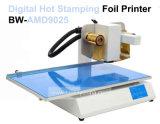 単一カラーアルミホイルのギフトの紙袋の印刷プリンター熱い押す文字