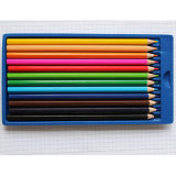 2018 Hot Sales 12 Colored Pencils in Tin box, oem fire
