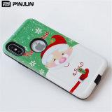 Weihnachtsgeschenk Soem-ODM kundenspezifischer Telefon-Kasten für iPhone X/8/8plus/7/7plus