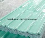 FRPの半透明な屋根ふきシート