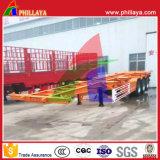 40FT Behälter-Rahmen-Skeleton LKW-Sattelschlepper für Behälter-Transport