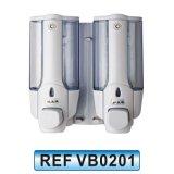 Distribuidor fixado na parede do sabão líquido do suporte do único ABS plástico (VB0203)