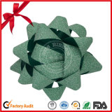 SGS teinture verte Star Bow pour Thanksgiving de ruban